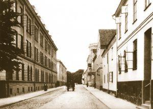 Historisk bild från Kristianstad