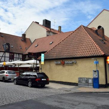 Spanska ryttaren 3. Kristianstad, centrum